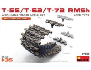 Miniart MIN37052 T-55 62T-72RMShWorkable TrackLinksSet.Late Type KIT 1:35 Modellino