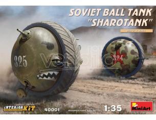 Miniart MIN40001 SOVIET BALL TANK SHAROTANK KIT 1:35 Modellino