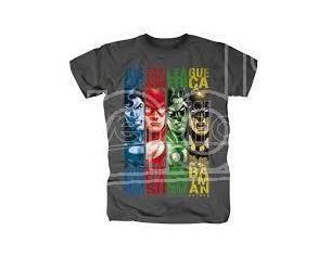 Justice League -T-Shirt Maglia Maglietta a Maniche Corte Taglia M