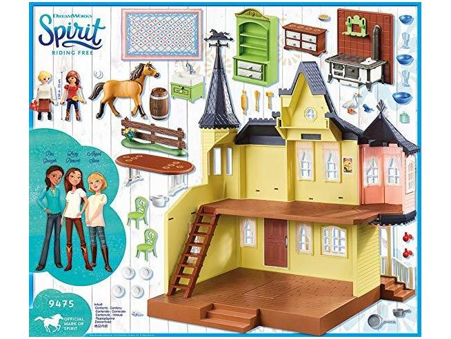 PLAYMOBIL SPIRIT 9475 - CASA DI LUCKY