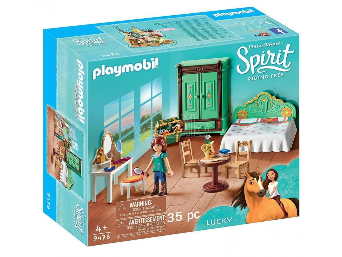 PLAYMOBIL SPIRIT 9476 - CAMERETTA DI LUCKY