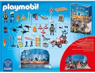"""PLAYMOBIL 9486 - CALENDARIO DELL'AVVENTO """"VIGILI DEL FUOCO"""""""