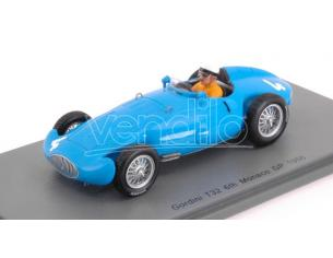 Spark Model S5312 GORDINI T32 A.PILETTE 1956 N.4 6th MONACO GP 1:43 Modellino