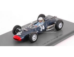 Spark Model S5332 LOLA CLIMAX MK4 JOHN CAMPBELL-JONES 1963 N.24 13th BRITISH GP 1:43 Modellino