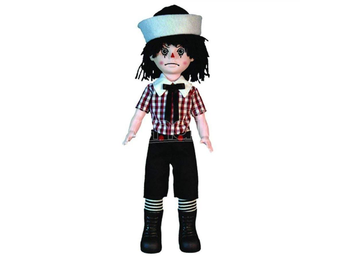 MEZCO LIVING DEAD DOLLS ROTTEN SAM CASE 25 CM ACTION FIGURE