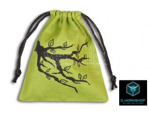 Q WORKSHOP ENT GREEN DICE BAG ACCESSORI