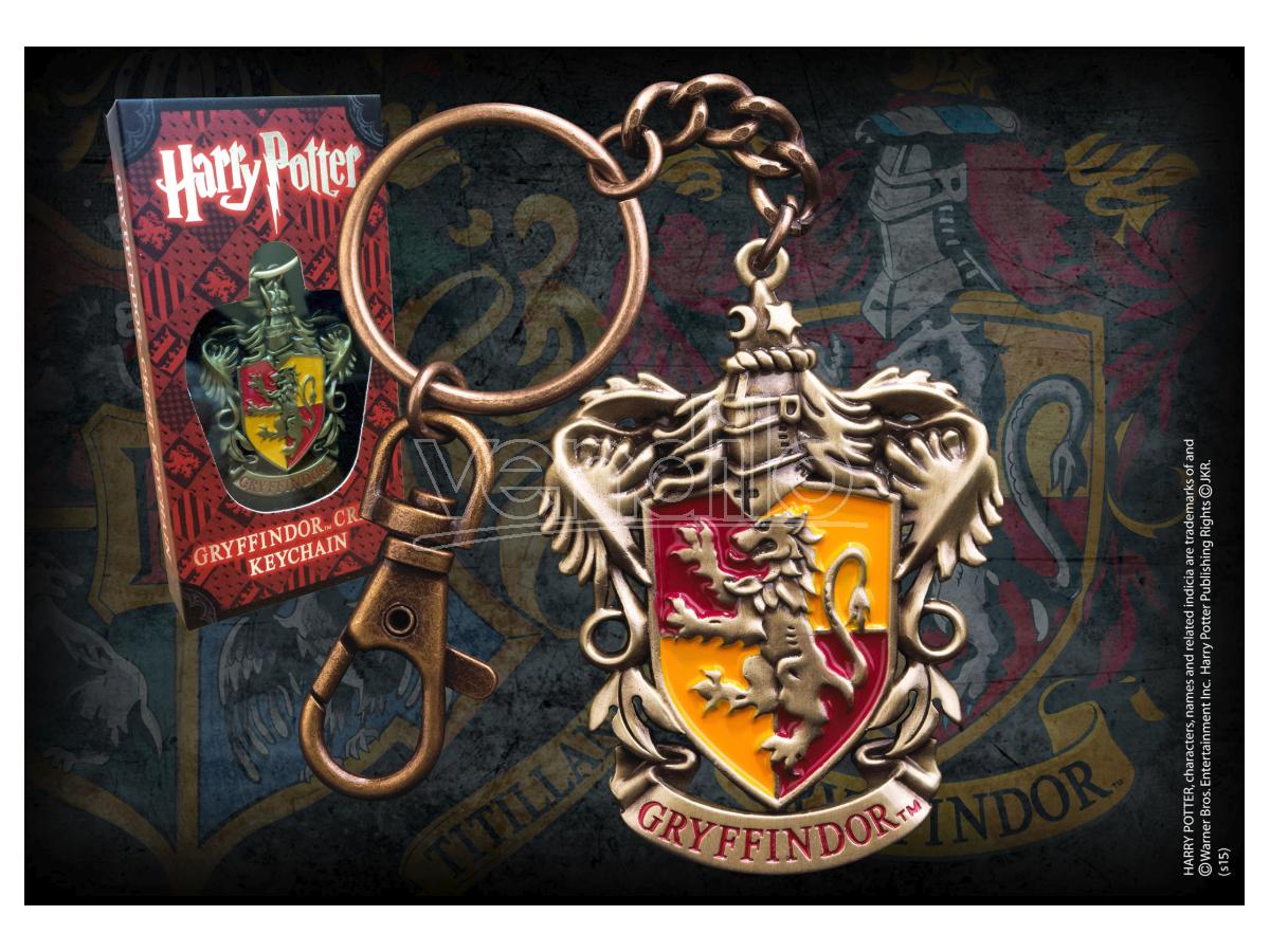 Portachiavi con Stemma Grifondoro Harry Potter Noble Collection