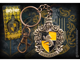 Harry Potter  Portachiavi Con Stemma Tassorosso  Noble Collection
