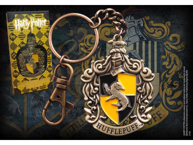 Portachiavi con Stemma Tassorosso Harry Potter Noble Collection