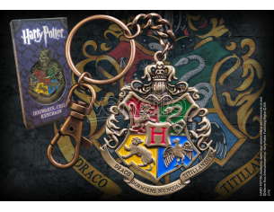 Portachiavi con Stemma Hogwarts Harry Potter Noble Collection