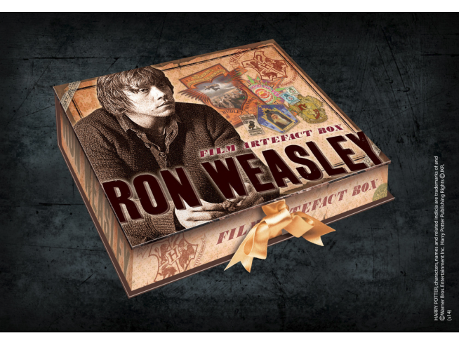 Box da Collezione Repliche Artefact Ron Weasley Harry Potter Noble Collection