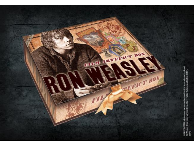 Harry Potter  Box Da Collezione Repliche Artefact Ron Weasley  Noble Collection