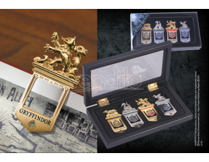 Set Segnalibri delle 4 Case di Hogwarts Harry Potter Noble Collection