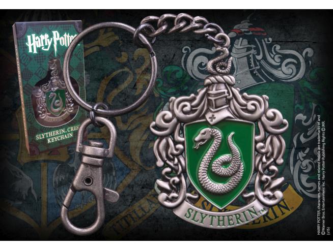 Portachiavi con Stemma Serpeverde Harry Potter Noble Collection