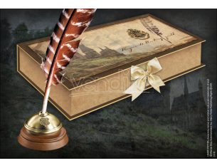 Harry Potter Penna Piuma E Calamaio Hogwarts Replica Noble Collection