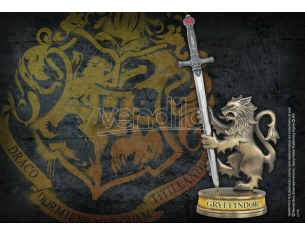 Tagliacarte con Supporto Statuetta Grifondoro Harry Potter 21cm Noble Collection