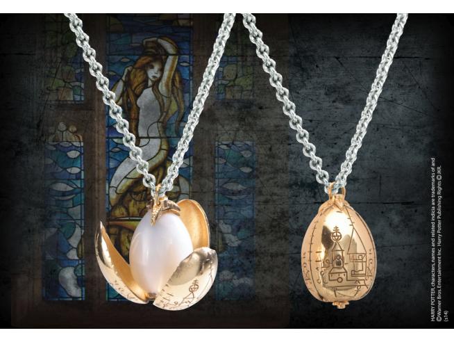 Collana e Ciondolo Uovo d'Oro Harry Potter Noble Collection