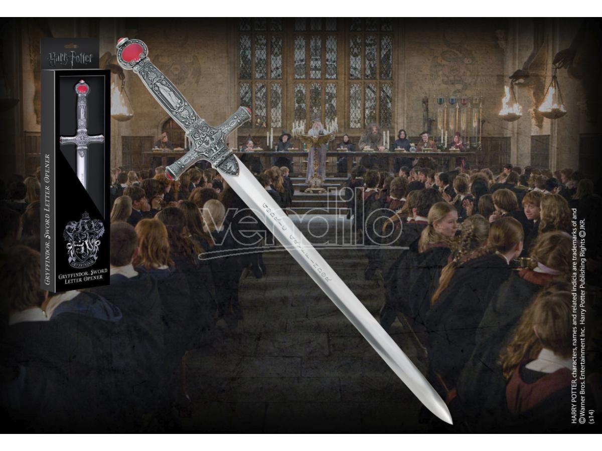 Harry Potter  Tagliacarte Spada Di Godric Griffondoro In Metallo  Noble Collection