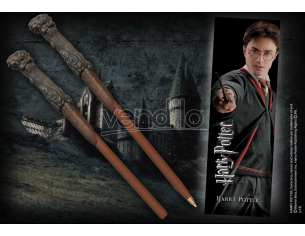 Harry Potter Penna E Segnalibro Bacchetta Noble Collection