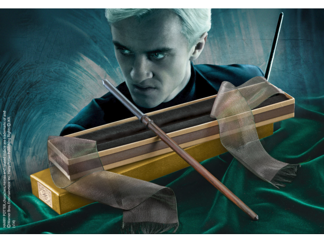 Bacchetta Magica Draco Malfoy Harry Potter Olivander Noble Collection