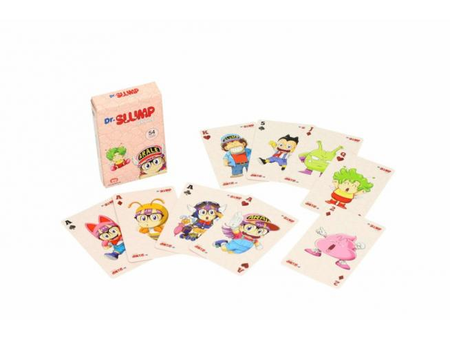 SD TOYS DR SLUMP POKER PLAYING CARDS CARTE DA GIOCO