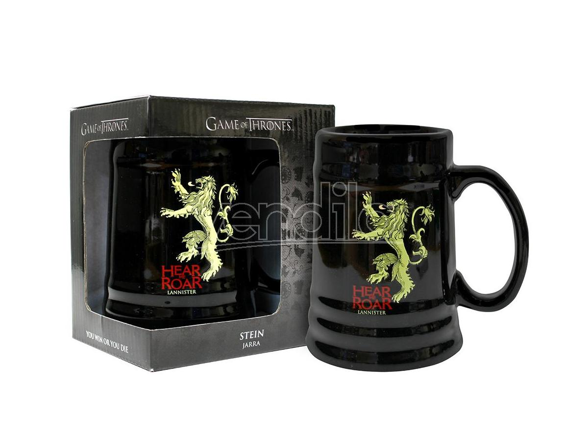 SD TOYS GAME OF THRONES LANNISTER BLACK STEIN BOCCALE