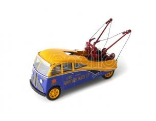 Autocult ATC11004 BARNES STREAMLINED WRECKER 1938 YELLOW/BLUE 1:43 Modellino