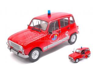Solido SL1800106 RENAULT 4L POMPIER DU VAR 1:18 Modellino