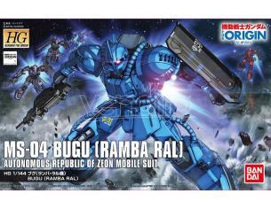 BANDAI MODEL KIT HG BUGU MS-04 RAMBA RAL 1/144 MODEL KIT