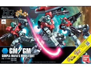 BANDAI MODEL KIT HG GM/GM 1/144 MODEL KIT