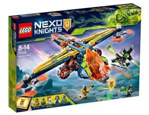 LEGO NEXO KNIGHTS 72005 - X-BOW DI AARON SCATOLA ROVINATA