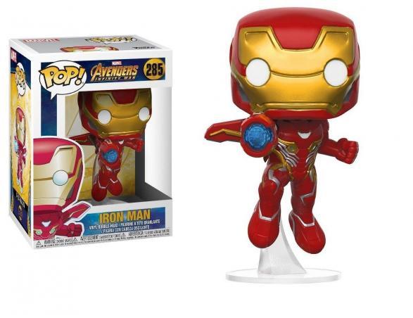 Funko Avengers Infinity War POP Marvel Vinile Figura Iron Man 9 cm