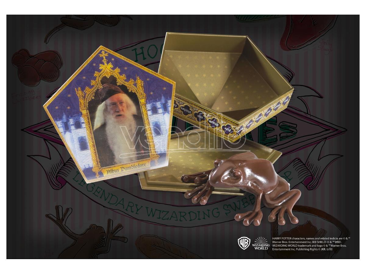 Harry Potter Replica Rana Di Cioccolato 7 Cm Noble Collection