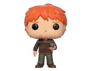 Funko Harry Potter POP Movies Vinile Figura Ron Wesley con Crosta 9 cm