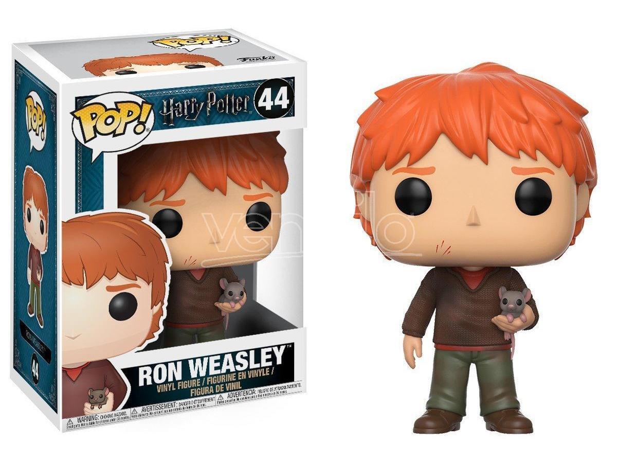 Harry Potter  Funko  Pop Movies Vinile Figura Ron Wesley Con Crosta 9 Cm