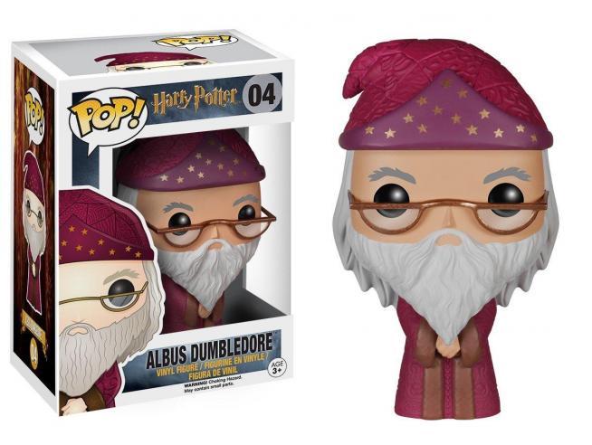 Funko Harry Potter POP Movies Vinile Figura Albus Silente 9 cm
