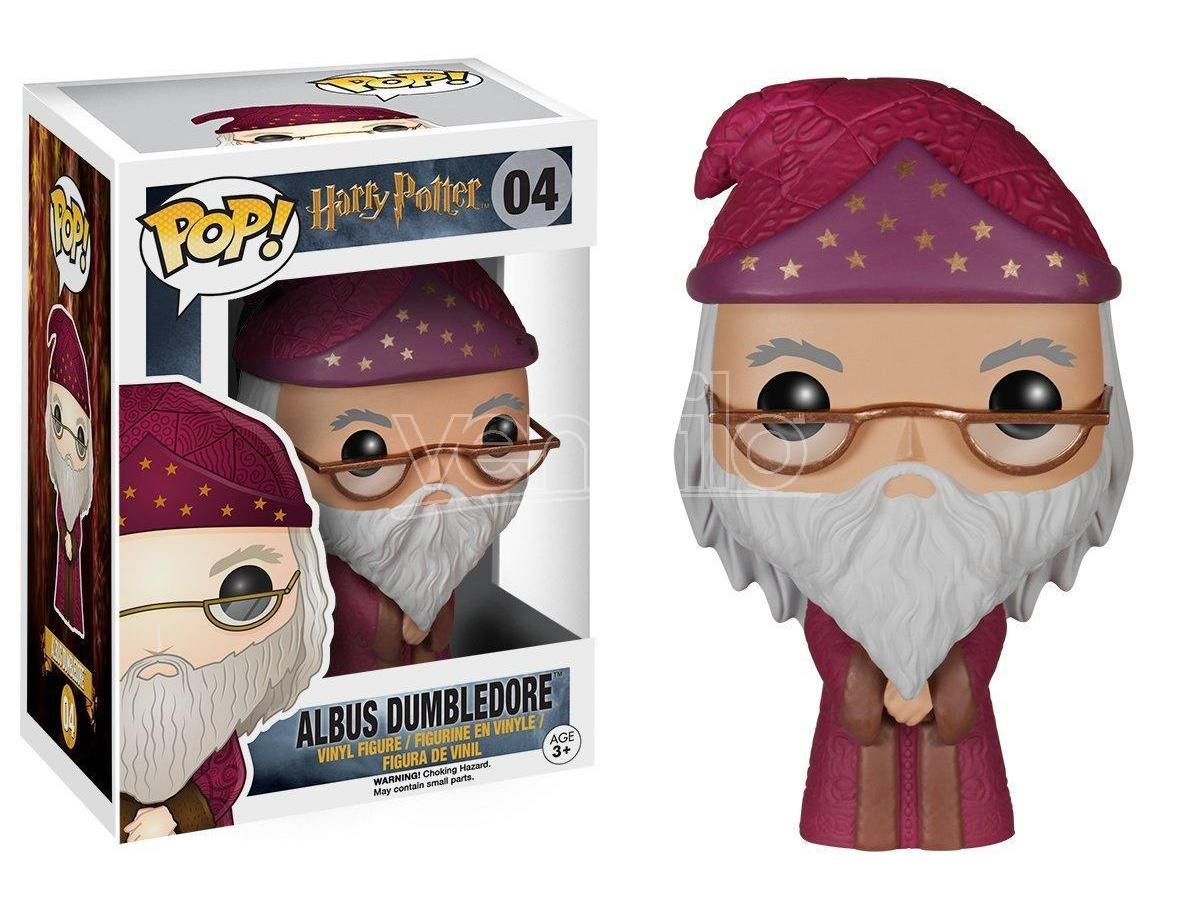 Harry Potter Funko Pop Movies Vinile Figura Albus Silente 9 Cm