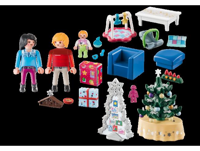 Playmobil Natale 9495 - Natale In Famiglia