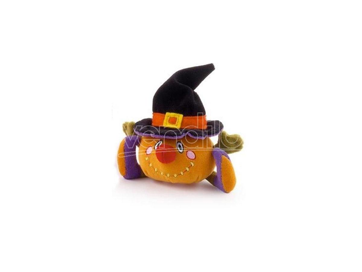TRUDI 2954-810 - SWEET COLLECTION PELUCHE ZUCCA HALLOWEEN 9 CM