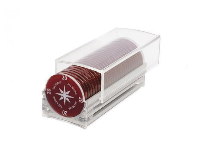 DAL NEGRO 715373 COUVETTES FICHES PLASTICA PER 400 PZ.