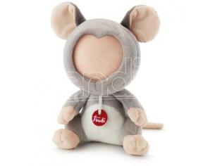 TRUDI 2904-386 - PELUCHE TRUE EMOTION TOPOLINO 15 CM