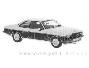 Neo Scale Models NEO46116 OPEL COMMODORE B STEINMETZ SILVER/BLACK 1:43 Modellino