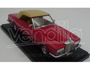 Neo Scale Models NEO46486 ROLLS ROYCE GHOST VI FRUA DROPHEAD COUPE' 1971 RED 1:43 Modellino