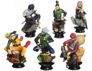 MEGAHOUSE SET SCACCHI NARUTO SHIPPUDEN COLLECTION A SORPRESA (SCATOLA ROVINATA)
