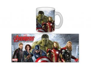 SEMIC AVENGERS AOU CAST MUG TAZZA