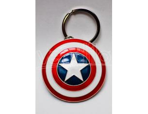 SEMIC CAPTAIN AMERICA SHIELD KEYCHAIN PORTACHIAVI