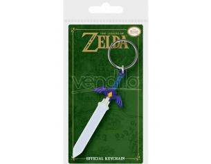 PYRAMID INTERNATIONAL LEGEND OF ZELDA MASTER SWORD KEYRING PORTACHIAVI