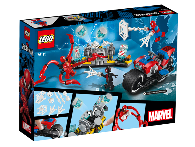 LEGO SUPER HEROES 76113 - SPIDER-MAN MOTOCICLETTA