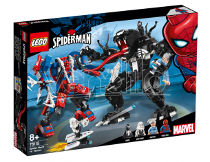 LEGO SUPER HEROES 76115 - SPIDER-MAN LOTTA TRA SPIDER-MA VS VENOM