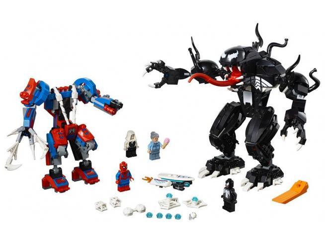 LEGO SUPER HEROES 76115 - SPIDER-MAN LOTTA TRA SPIDER-MA VS VENOM